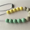 SiliconeTeething Necklace (BPA FREE)
