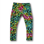 Black Spot print Girls Leggings SIZE 6
