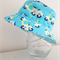 Boys summer hat in cool scooter fabric