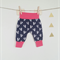 Fox baby pant comfy pink blue navy  0-3month