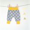 Fox baby pant comfy yellow grey 0-3month
