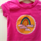 Size 0 Girls Rainbow Hot Pink Appliqued Tshirt