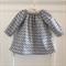 Organic Long Sleeve Peasant Dress size 6 - 12 months