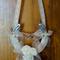 Real Horseshoe Wedding Accessory - Cream
