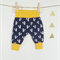 Fox baby pant comfy yellow blue navy  0-3month