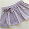 Baby girls lilac floral skirt