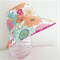 Girls hats in Spring floral pattern