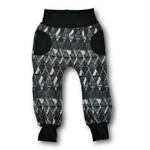 Fleece Faux Pocket Trackpants (SIZES 1-2)