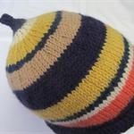 Multi - Colour Wool  Beanie