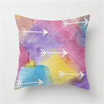 Arrows Geometric Watercolour Cushions Cover