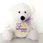 RING BEAR; Ring Pillow Alternative; Personalised Teddy;