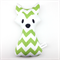 Fox Rattle Green Chevron