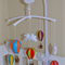 Hot Air Balloons Theme Baby Mobile - Available in Custom Colours (made to order)