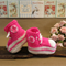 Knit Baby Booties Converse Hi Tops Fluro Pink White Toddler Shoes Baby Shower