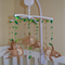 Monkey Theme Baby Mobile - Available in Custom Colours (made to order)