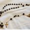 Black & Gold Rosary