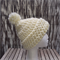 Super chunky crochet adult beanie with pompom
