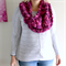 Mulberry Cowl   Pure Wool   Chunky Knit