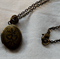 Small Antique Brass Locket