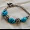 Faux Turquoise Bracelet