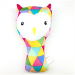 Owl Rattle Bright Triangles