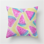 Sweet Watermelons Watercolour Cushions Cover