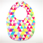 BUY 3 GET 4th FREE Bright Triangles Bib