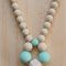 Silicone Necklace -Ivy in Cream-