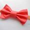 Watermelon bow stretch headband