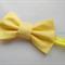 Classic Yellow bow stretch headband