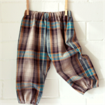 baby boy harems | check, plaid | play pants