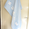 Extra Large Blue Personalised Daisy Applique' Fleece Blanket