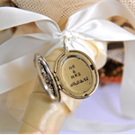 Bouquet Locket, Wedding Date Locket, Mr & Mrs Locket, Wedding Inspiration,