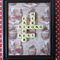 FATHERS DAY PERSONALISED BIRTHDAY PRESENT SCRABBLE LETTER ART PICTURE FRAME GIFT