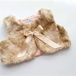 Rabbit mink fur  Vest size 1