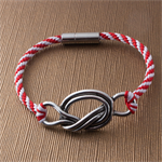 Knot on Your Life!  Kumihimo bracelet