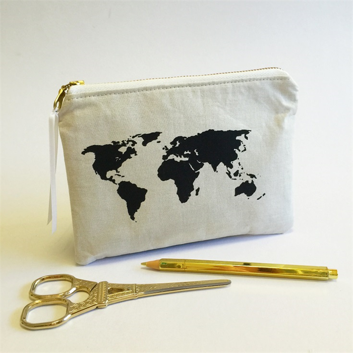 World map print travel purse map pouch map image travel gift world map print travel purse map pouch map image travel gift idea gumiabroncs Image collections