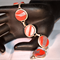 Red and wilver bracelet