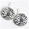 Photographic Earrings - Pattern Play - Black and white