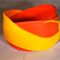 Red and yellow bangle