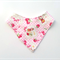 Vintage Red Riding Hood Bandana bib