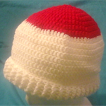 Crocheted Red and White