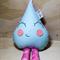 Pastel Blue Raindrop rattle