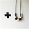 BLACK ZIGGY Necklace