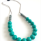 Silicone Teething Necklace Peacock & Pewter