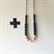 BLACK NORWEIGIAN Necklace