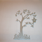 Cut Out Tree - custom listing for Janine