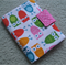 Notepad and Crayon Wallet - Owls - Girl - Gift