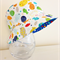 Boys summer hat in funky fish fabric