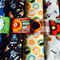 Multi Buy-Baby or toddler funky nappy wallet. Made to order. Many designs.
